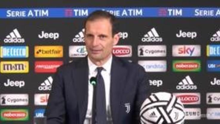 """Juventus, Allegri: """"Ragazzi seri e responsabili"""""""