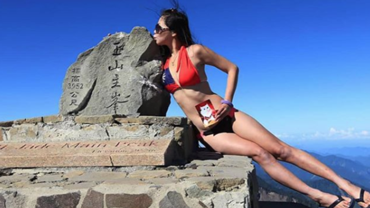 Taiwan, morta Gigi Wu, la 'scalatrice in bikini' famosa sui social