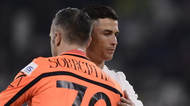 """Sorrentino: """"Il rigore parato a Ronaldo? Soddisfatto, ma volevo che il mio Chievo vincesse"""""""