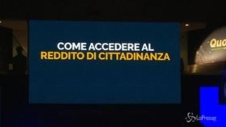 Reddito di cittadinanza, il M5S presenta il provvedimento: slide, promesse e 'benedizione' di Grillo