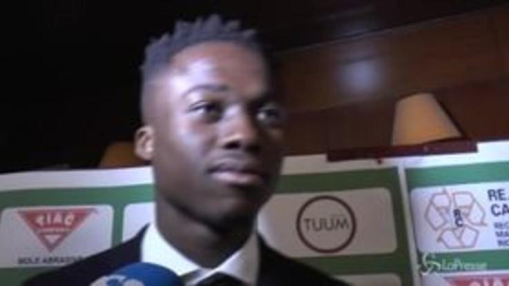 """Kouame: """"Piatek? E' un amico, gli auguro di fare bene al Milan"""""""