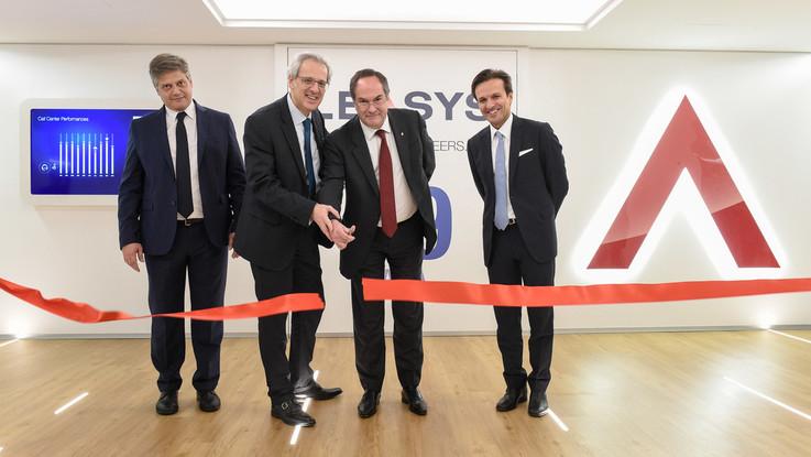 Leasys: inaugurata la nuova sede di Roma