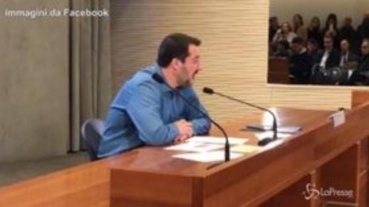 """Salvini: """"Le ong? Di alcune abbiamo prove di contatti con i trafficanti a terra"""""""