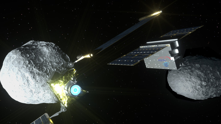 Uno 'smallsat' italiano documenterà l'impatto tra una sonda e un asteroide