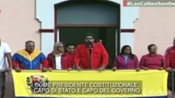 Venezuela, Maduro rompe le relazioni diplomatiche con gli Usa