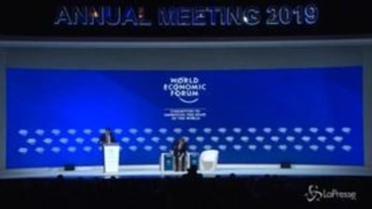 Conte a Davos, l'elogio al populismo del premier