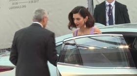 Terzo figlio in arrivo per George Clooney e la moglie Amal