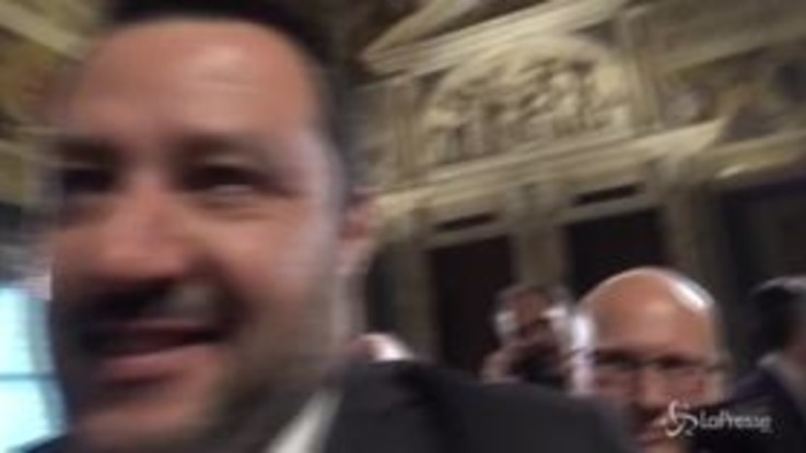 """Governo, Salvini: """"Adesso cominceremo a imporre i sì, unico no agli sbarchi"""""""