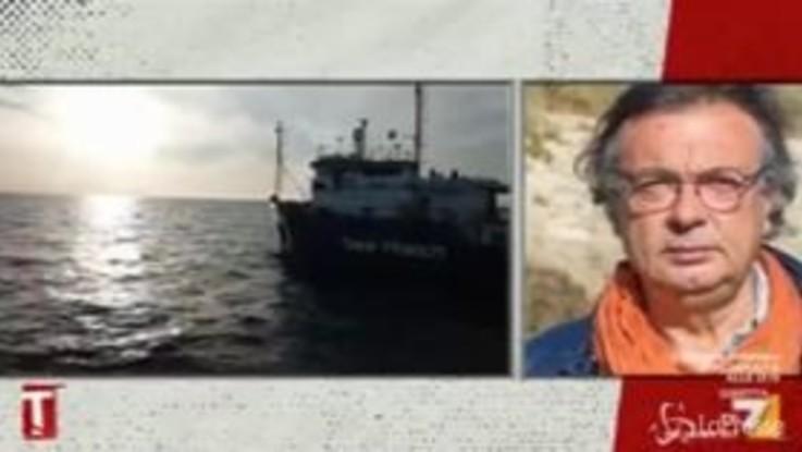 """Migranti, il sindaco di Lampedusa: """"Il nostro porto è aperto"""""""