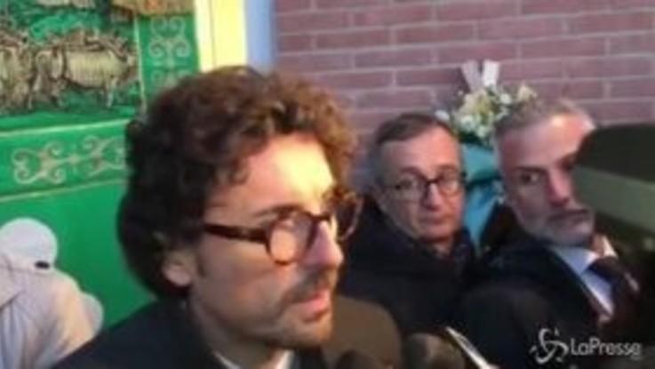 """Toninelli a Pioltello: """"Mi avrebbe fatto piacere vedere anche Salvini"""""""