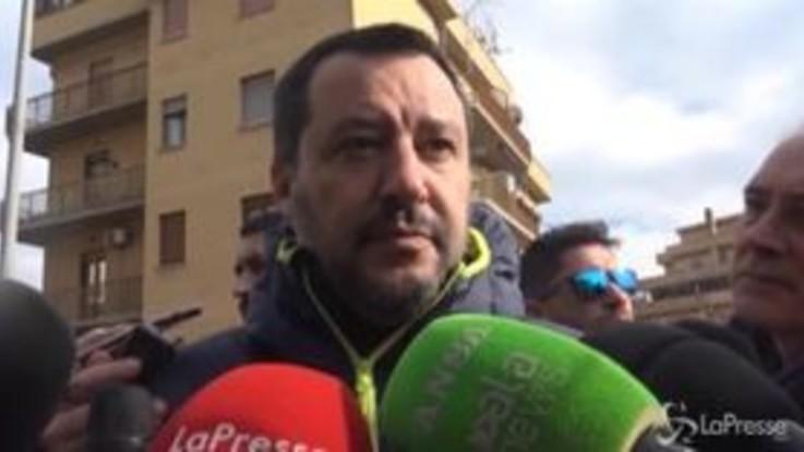 """Caso Diciotti, Salvini: """"Altri chiedevano immunità perché rubavano, io pronto a farmi processare"""""""