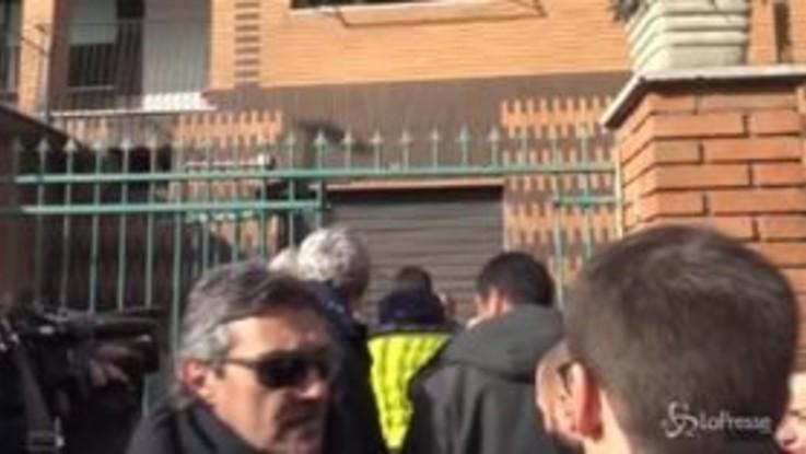 """Roma, Salvini consegna villa confiscata: """"Ragazzi disabili al posto di un delinquente"""""""