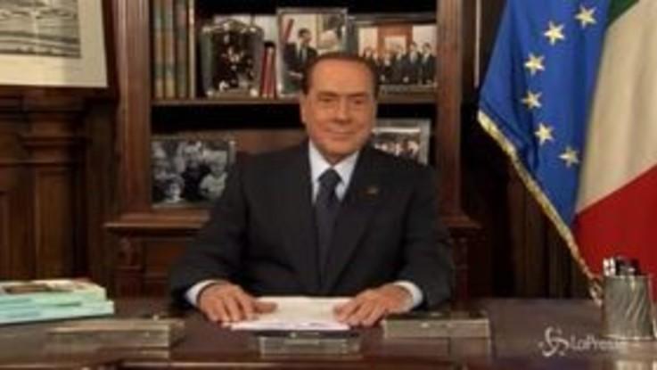 """Berlusconi: """"Torno in campo, mi candido alle Europee"""""""