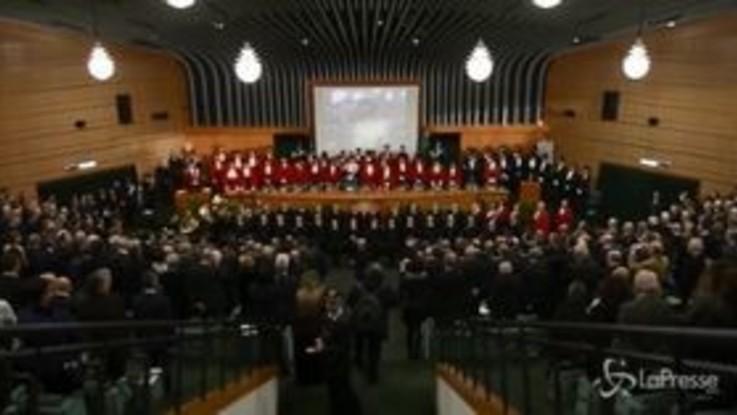 Torino, inaugurazione dell'anno giudiziario
