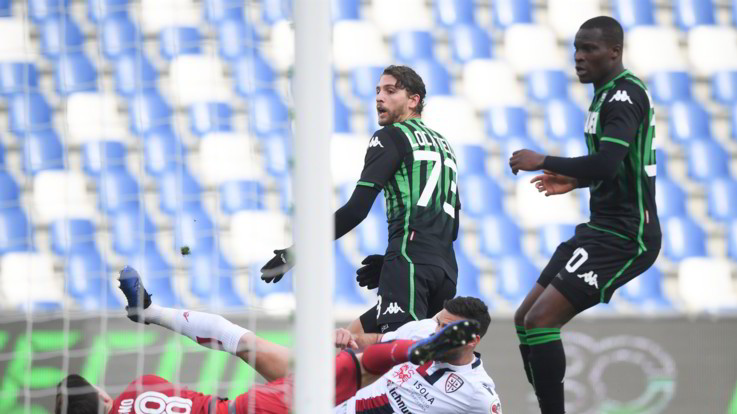 Serie A, Sassuolo-Cagliari 3-0   Il Fotoracconto
