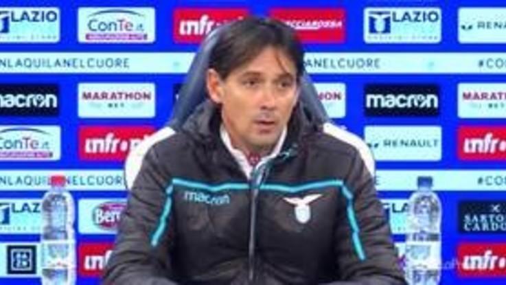"""Lazio, Inzaghi: """"Juve tra le migliori d'Europa"""""""