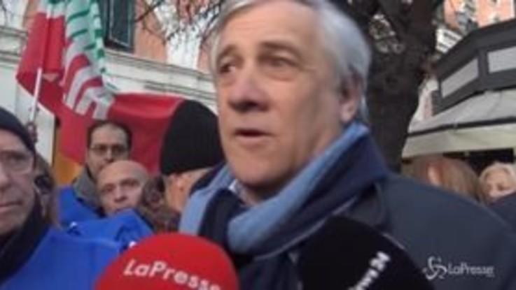 """Tajani: """"Vogliamo che Forza Italia sia perno di un nuovo governo"""""""