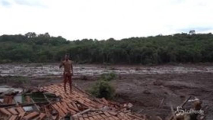 Brasile, crolla una diga: la conta dei danni