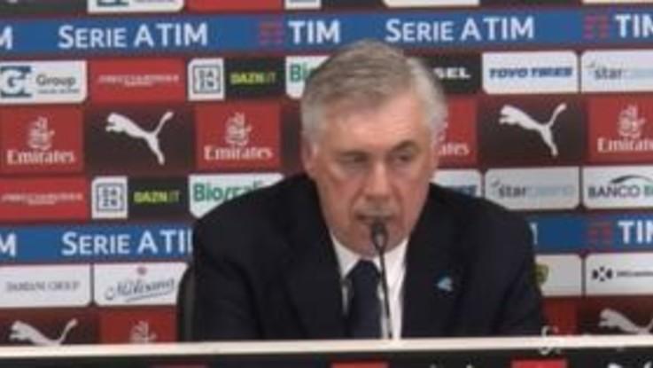 """Ancelotti: """"San Siro? Grande rispetto per Koulibaly"""""""