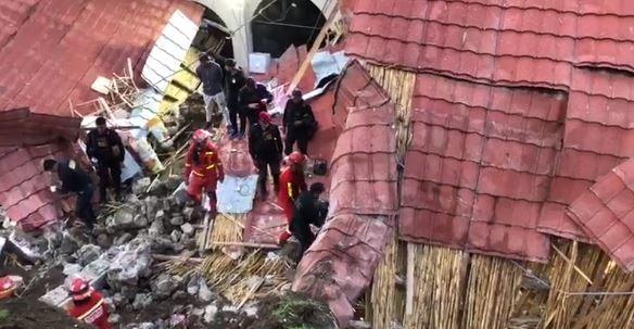 Perù, tragedia alla festa di nozze: hotel travolto da una frana, 15 morti
