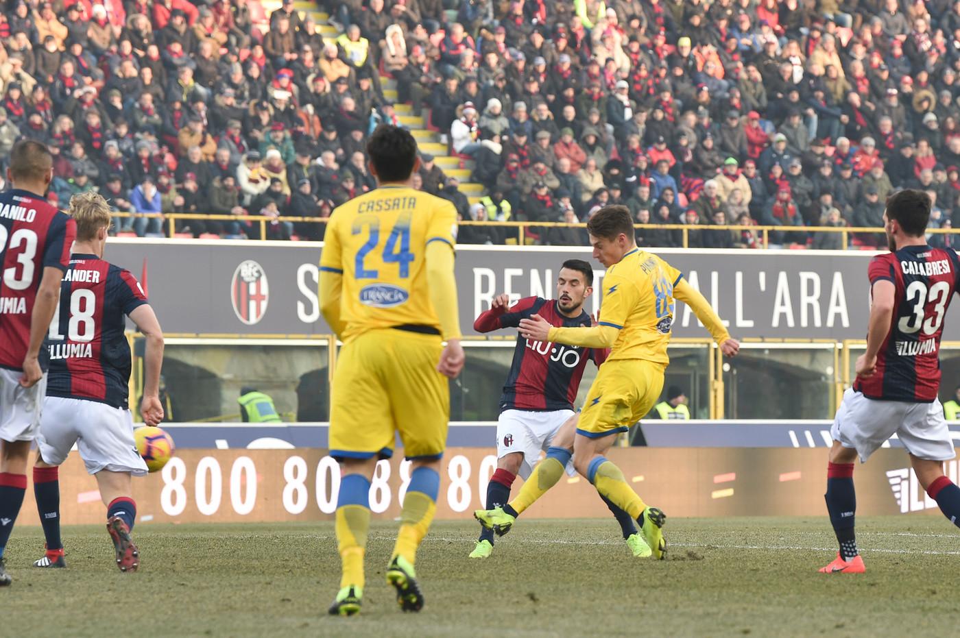 Serie A, Bologna-Frosinone 0-4 | Il Fotoracconto - LaPresse