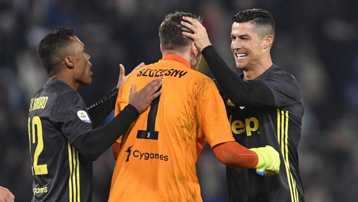 Serie A, le pagelle di Lazio-Juventus 1-2: Cancelo e Szczesny su tutti