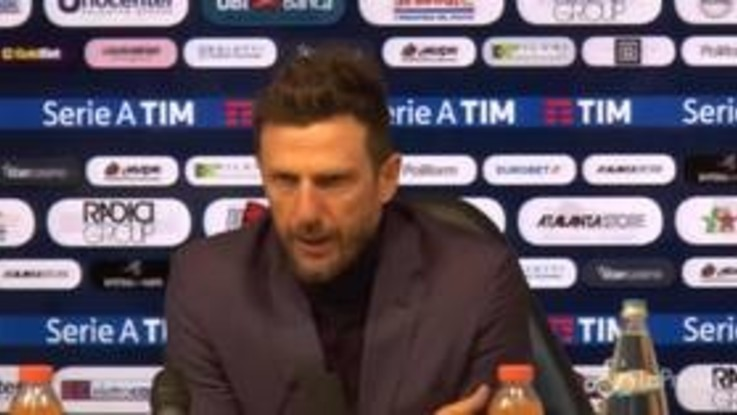 """Roma, Di Francesco: """"La squadra non è guarita, la personalità non si compra"""""""