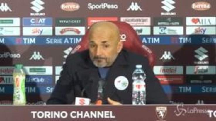 """Inter, Spalletti: """"Icardi e Lautaro? Hanno fatto benino"""""""