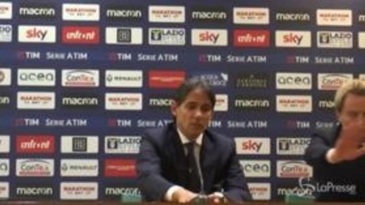 """Lazio, Inzaghi: """"Meritavamo di vincere, dovevamo fare il 2-0"""""""