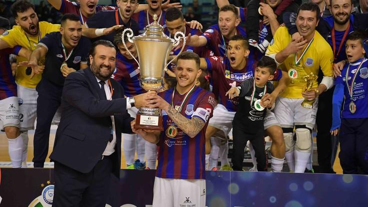 Calcio a 5, il Real Rieti vince la Coppa della Divisione