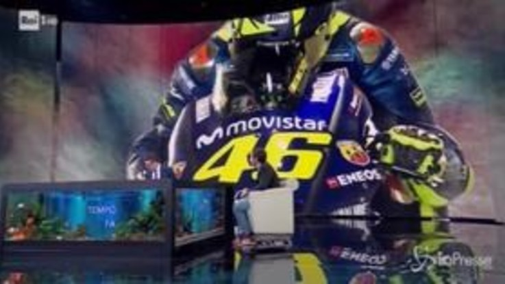 """Valentino Rossi nello Zingarelli: """"Ho fatto la spiegazione della velocità"""""""