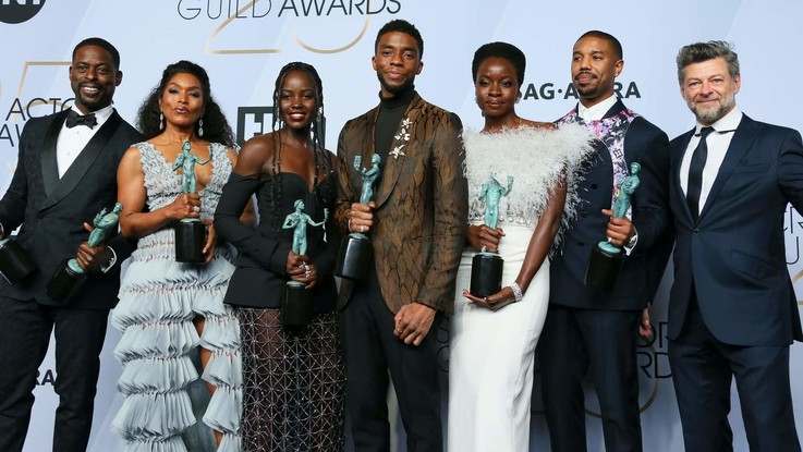 Ai SAG Awards trionfano 'Black Panther', Glenn Close e Rami Malek