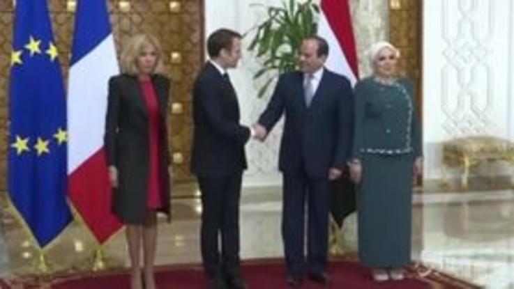 Egitto, Al Sisi riceve Macron: stabilità in Medioriente e immigrazione al centro del vertice