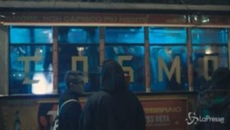 Cosmo, ecco il rave itinerante sul tram a Milano