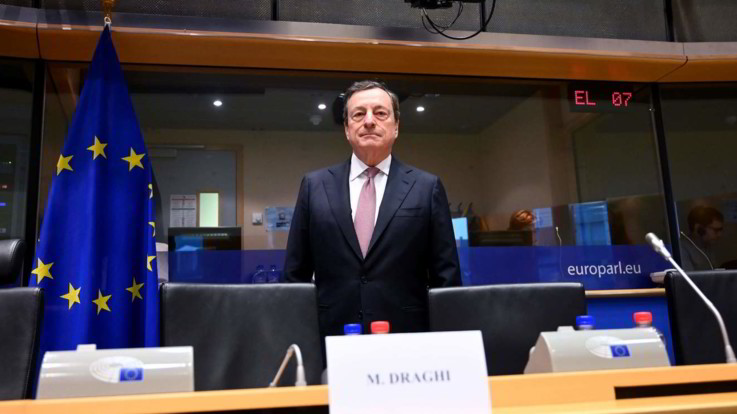 """L'avvertimento di Draghi: """"Un Paese perde sovranità quando il debito è fuori controllo"""""""