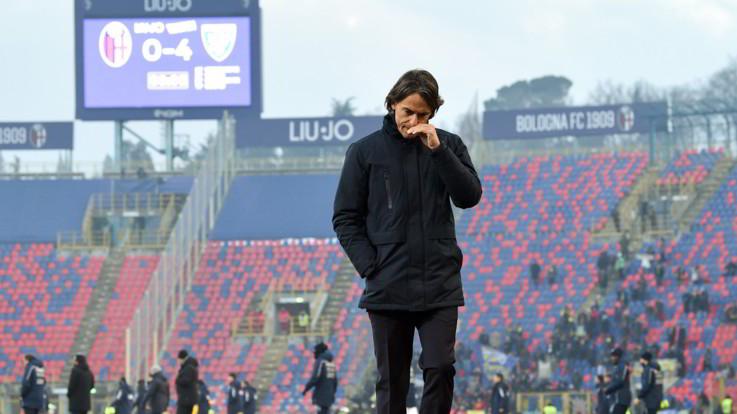 Bologna, esonerato Inzaghi, squadra a Mihajlovic