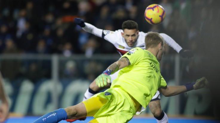 Serie A, per Sanabria esordio con gol: il Genoa passa 3-1 a Empoli