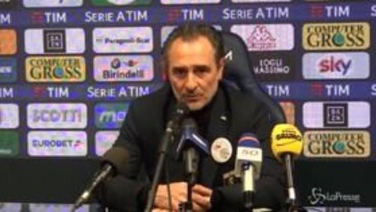 """Genoa, Prandelli: """"Sanabria un grande talento, deve migliorare sulla continuità """""""