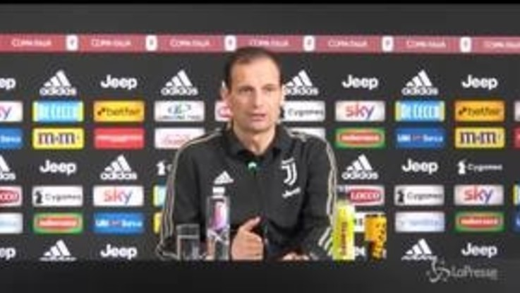 "Juve, Allegri: ""Noi favoriti a Madrid una follia"""