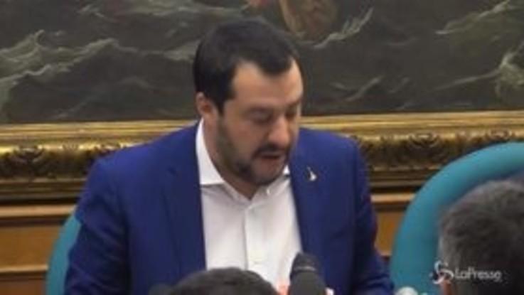 """Pensioni, Salvini: """"Prossimo obiettivo è quota 41"""""""