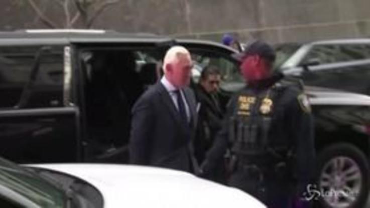 Russiagate, l'ex consigliere di Trump Roger Stone in tribunale