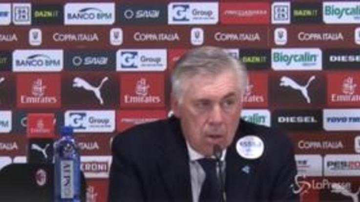 """Ancelotti: """"Non è mancata autostima, sono mancate attenzione e lucidità"""""""