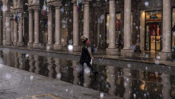 Neve fino in pianura al Nord: il meteo del 30 e 31 gennaio