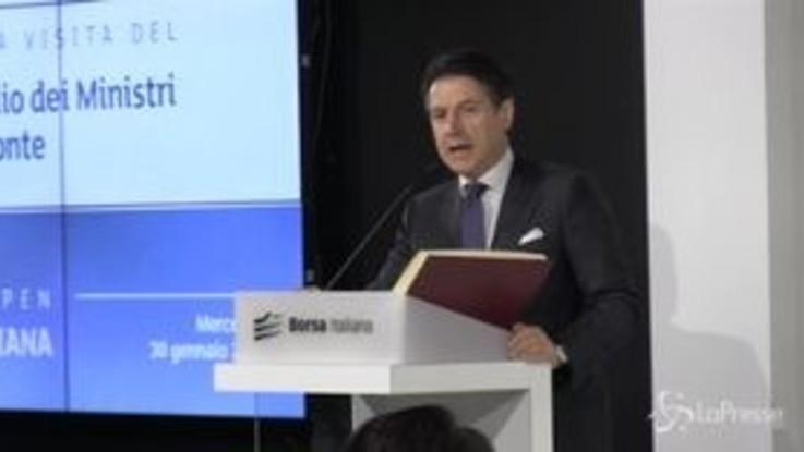 """Dl Semplificazioni, Conte: """"A breve madre di tutte riforme"""""""
