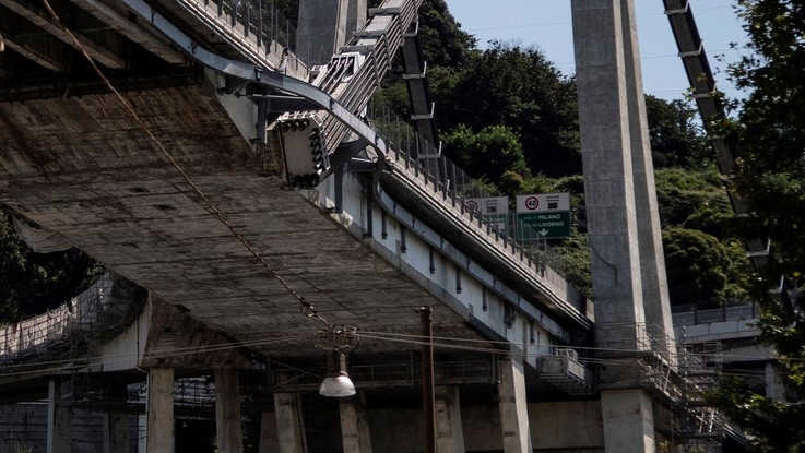 Ponte Morandi, perquisizioni nelle sedi di Spea del gruppo Autostrade