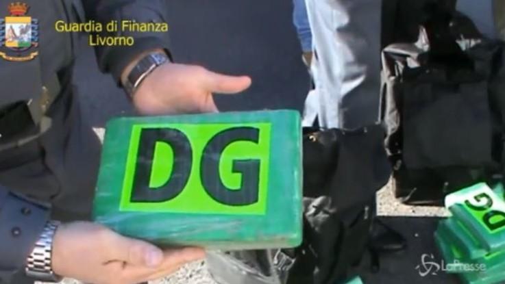 Maxisequestro di cocaina a Livorno: in un container 644 chili di polvere