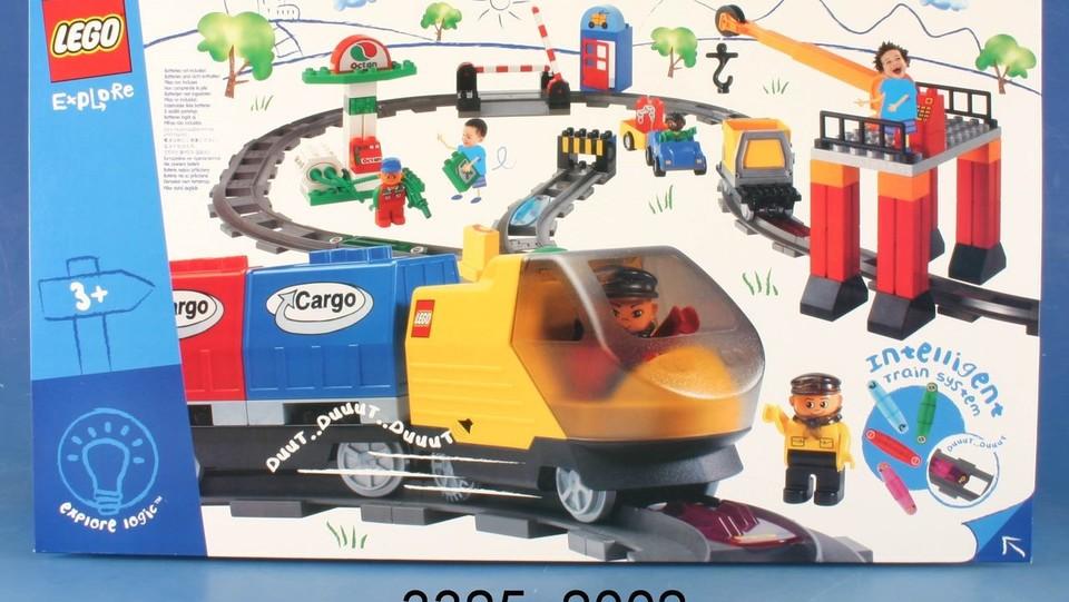 2002 - Il logo LEGO DUPLO viene rimpiazzato da LEGO Explore ma nel 2004 su suggerimento dei consumatori il nome torna nella versione originale ©