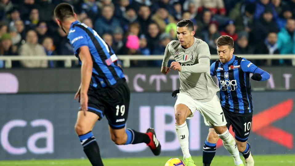 Cristiano Ronaldo (Juventus) in azione ©