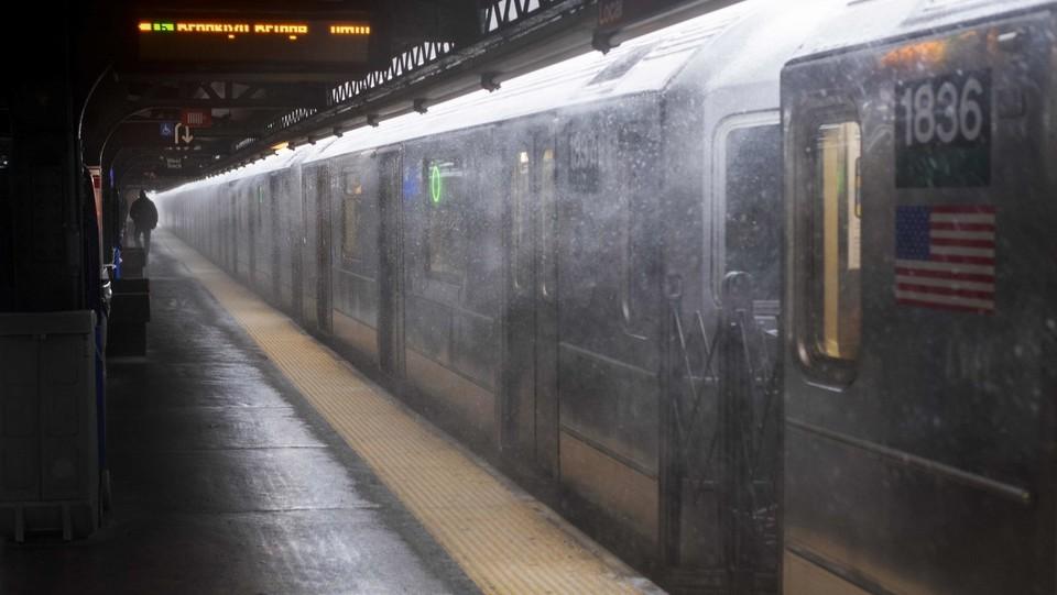 la metro a New York ©