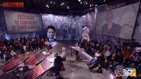 """Davos, Conte a Merkel: """"Salvini è contro tutti"""""""